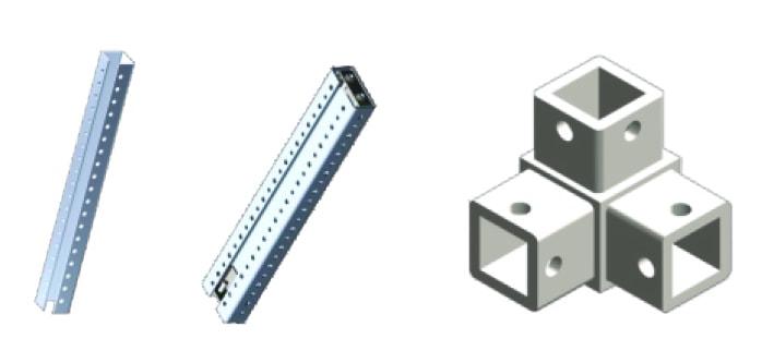 Modutec bus bar frame bar