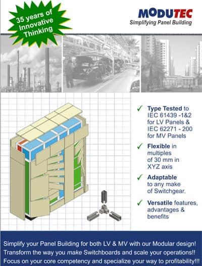 Modutec modular enclosure brochure