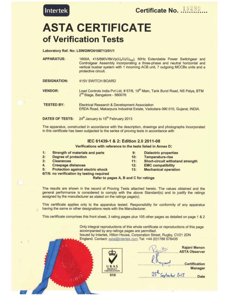 IEC 61439-SEIMENS-1600A - Modutec